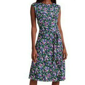 New Lauren Ralph Lauren Sz 8 Dress A-Line Floral